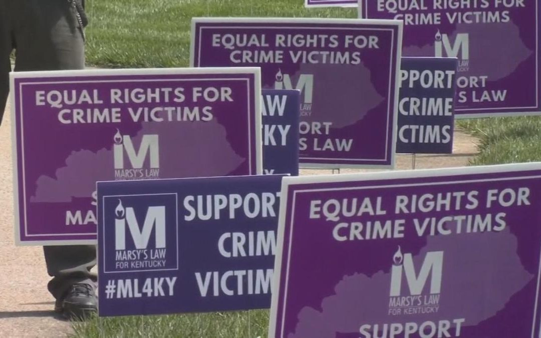 Legal experts and victims' advocate share impact of Marsy's Law in Kentucky
